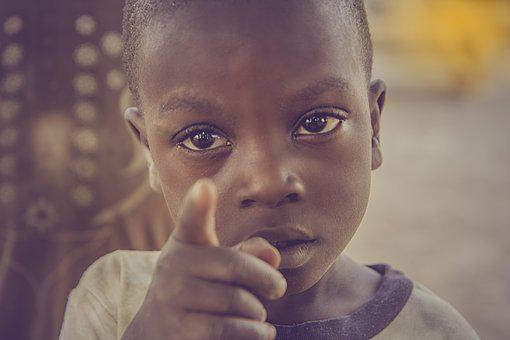 Africa, Child, Children, People, Young, Childhood