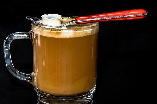 Coffee Cup, Café Au Lait, Coffee Foam, Coffee, Cup