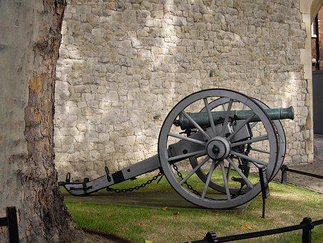 Cannon, Weapon, Tower Of London, England