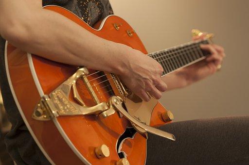 Guitar Music, Guitarist, Instrument, Musician
