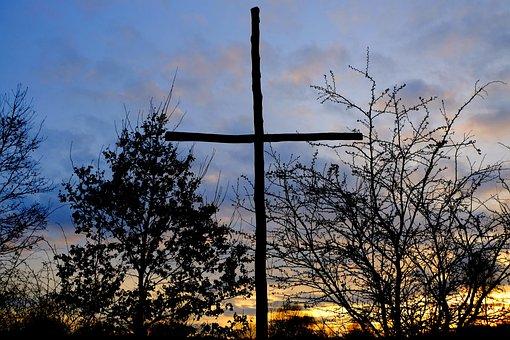 Cross, Monument, Jesus, Faith, Memorial Stone, Memorial