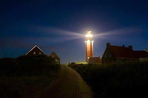 Texel, Lake, North Sea, Holiday, Beacon, Lighthouse