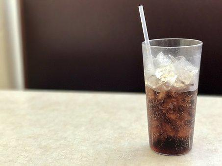 Soda, Glass, Cold, Drink, Beverage, Refreshment, Liquid