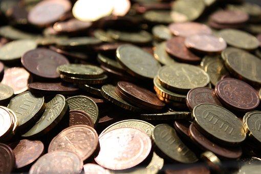 Money, Euro, Coins, Europe, Specie, Finance