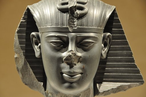 Pharaonic, Egypt, Statue, Head, Egyptian, Ancient Times
