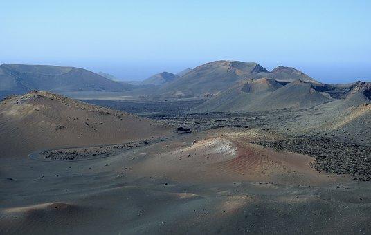 Volcanic Landscape, Lanzarote, Timanfaya, Lava Field