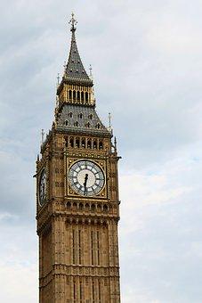 Big Ben, London, Clock, England, Tower, Uk, Landmark