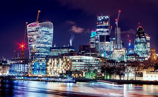 London, England, Great Britain, City, Urban, Buildings