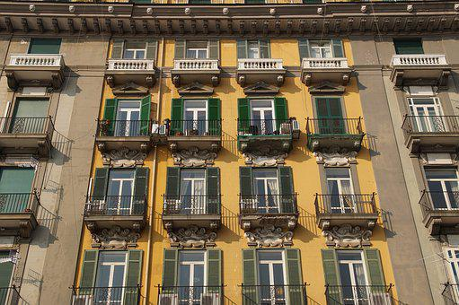 Window, Balcony, Windows, Building, Shutters, Apartment