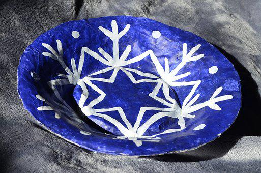 Handmade, Plate, Arts And Crafts, Figure, Bright