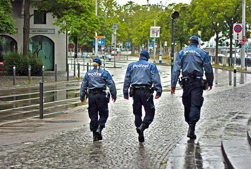 City, Police, Street, Law, Urban, Enforcement, Security