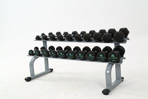 Fitness Equipment, Dumbbell, A Pair Of