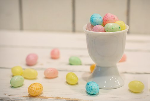 Easter, Candy, Pastels, Eggs, Candy Eggs, Holiday, Food