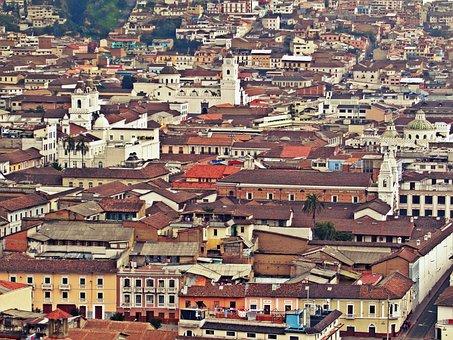 Quito, Ecuador, Emery, South America, View Of The City