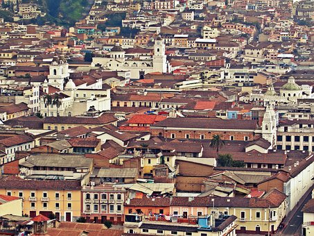 Quito, Ecuador, Emery, South America, View Of The City