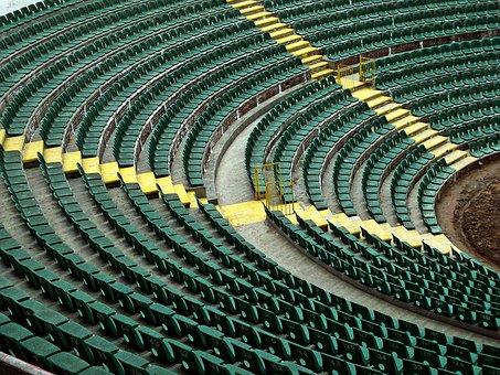 Green, Stadium, Seating