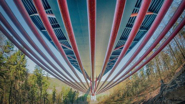 A81 Neckar Valley Bridge Weitingen, Highway Bridge