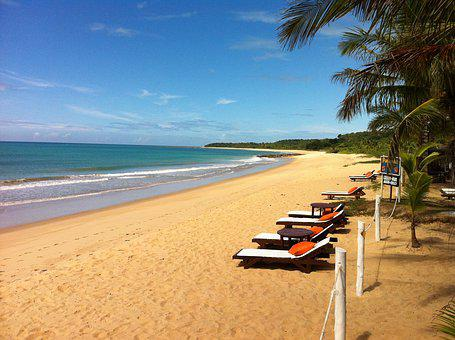 Beach, Sol, Sand, Mar, Sunset, Holidays, Beira Mar