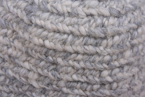 Wool, Needle Bind, Middle Ages, Craft, Hand Labor, Art