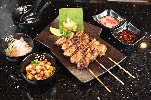 Pork Intestine, Barbecue, Grill, Bizarre Foods, Pork