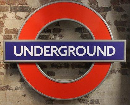 London, Tube, Subway, Metro, Logo, Underground