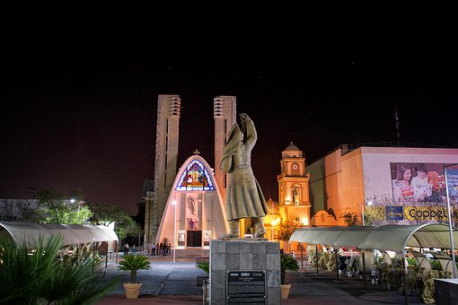 Night, Church, Monuments, Buildings, Temples, Sacred