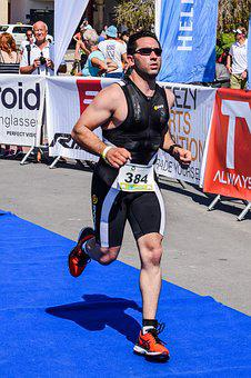 Triathlon, Sport, Competition, Athlete, Race, Fitness