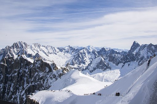 Alps, Mountain, Peaks, Nature, Snow, Landscape, Winter