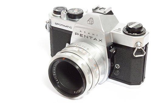 Pentax, Camera, Analog, Old Camera, Photograph