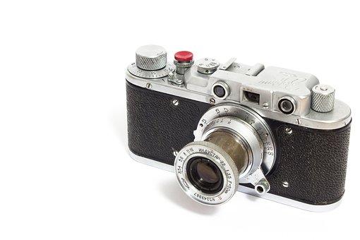 Leica, Camera, Analog, Zorki, Russian, Lens, Photograph