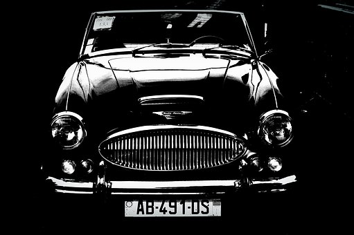 Austin Healey, Car, Old Car, Classic Car
