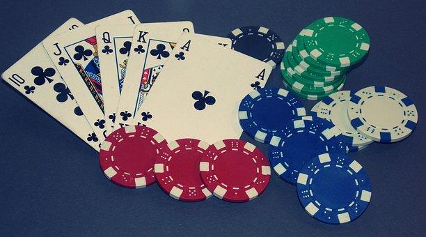 Poker, Royal Flush, Card Game, Win, Gambling