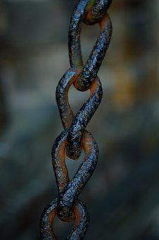 Chain, Metal, Steel, Links Of The Chain, Chain Link