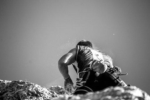 Rock, Climbing, Climber, Hiking, Mountain, Rocks, Italy