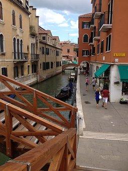 Venice, Italy, Summer, Clouds, Landscape, Coast