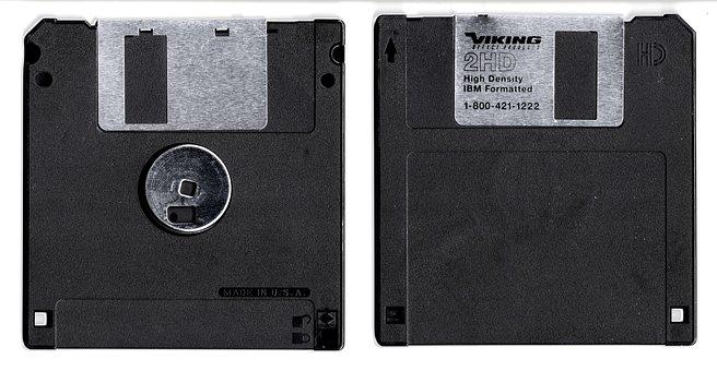 Floppy, Disk, Storage, Removable, Media, Diskette