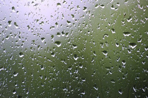 Rain, Glass, Drip, Raindrop, Wet, Window, Water