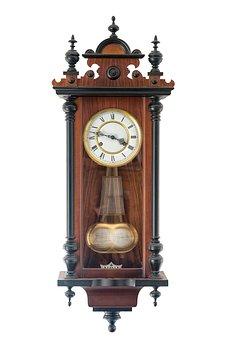 Pendulum Clock, Old, Pendulum, Clock Face, Clock, Hours