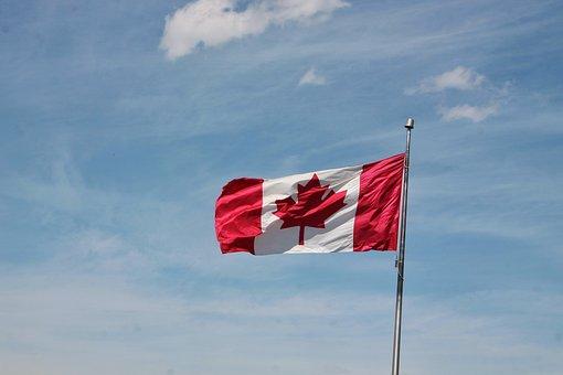 Canada, Flag, Canadian, Maple Leaf, Red Flag