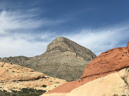 Mountain, Red Rock, Rock, Landscape, Nature, Travel