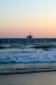 Oil, Fuel, Rig, Oil Rig, Gas, Industry, Petroleum