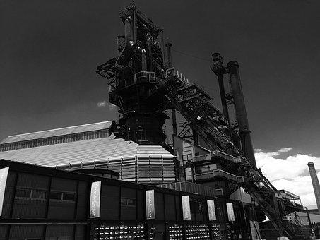 Factory, Machine, Industrial, Industry, Production