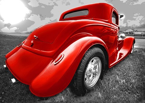 Hot Rod, Old, Car, Retro, Classic, Vintage, Automobile