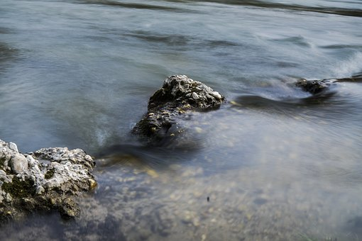 Water, Rock, Stone, Bach, Nature, Flow, Rocky, Splash