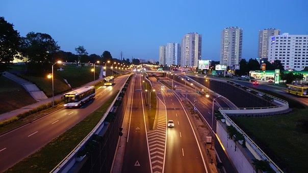 City, Katowice, Street, Public Space, The Prospect Of