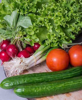 Tomatoes, Vegetables, Healthy, Cucumber, Tomato, Food