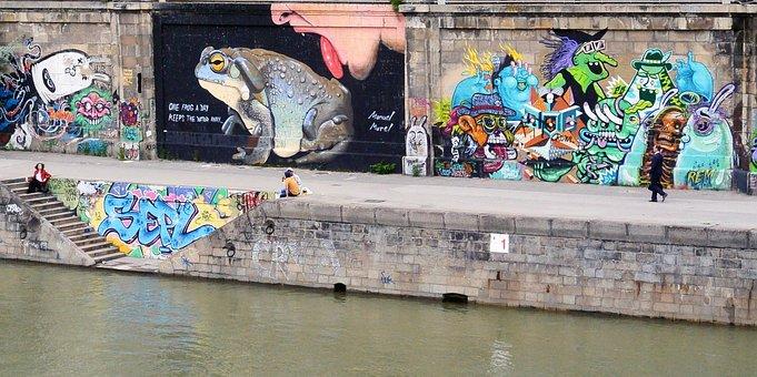 Street Art, Urban Art, Graffiti, Wall Painting, Art