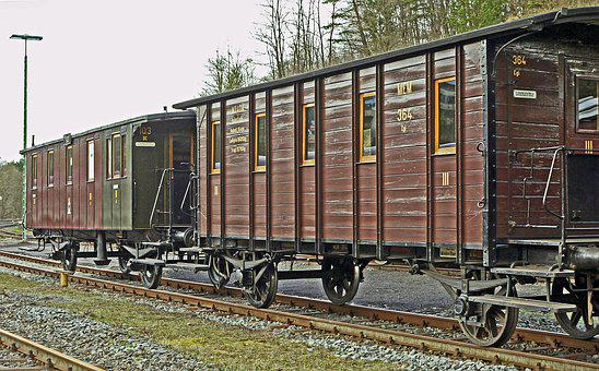 Passenger Train Car, Prussian, Historically, Worked