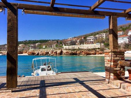 Croatia, Port, Boot, Coast, Sea, Dalmatia, Summer