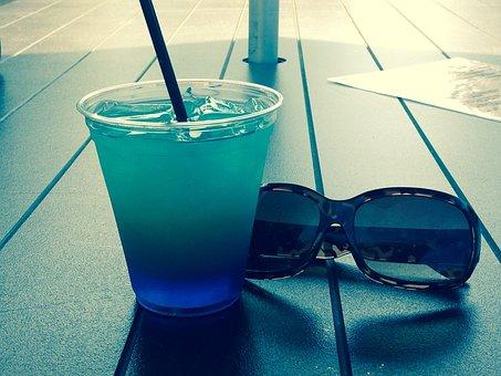 Drink, Sunglasses, Vacation, Spirits, Cocktail, Women
